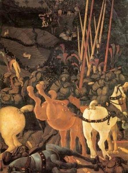 Bernardino della ciarda thrown off his horse detail 2 1450s xx galleria degli uffizi florence